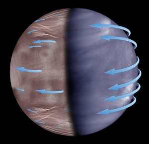 Sistema Solare, Venere, atmosfera di Venere, sonda Akatsuki, Agenzia spaziale giapponese, Jaxa