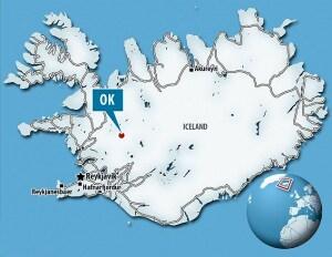 Islanda: il ghiacciaio Okjökull e il vulcano Ok