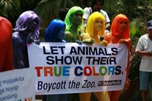PETA, contro gli zoo