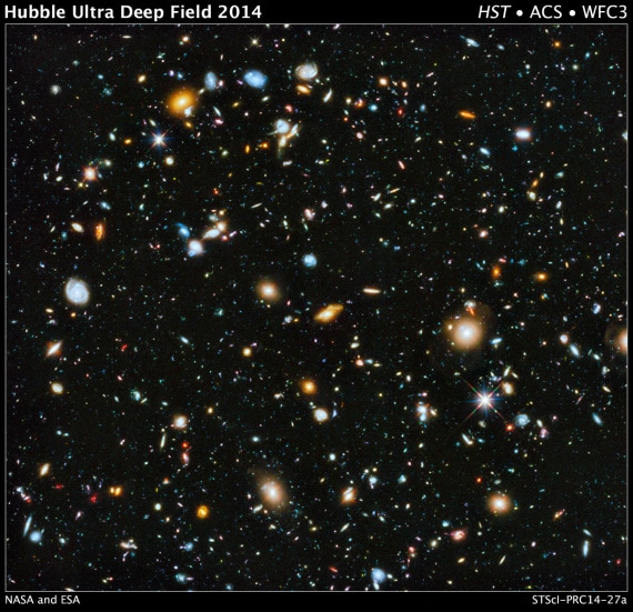 Hubble Space Telescope: Ultra Deep Field 2014