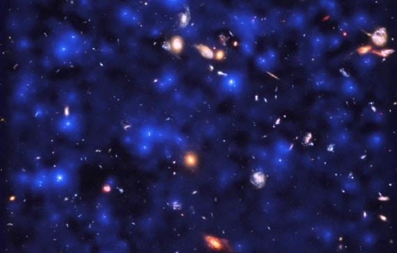muse, galassie, very large telescope, universo, idrogeno, evoluzione stellare
