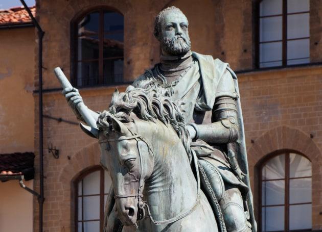 Cosimo I de' Medici raccontato nel podcast dallo storico Franco Cardini