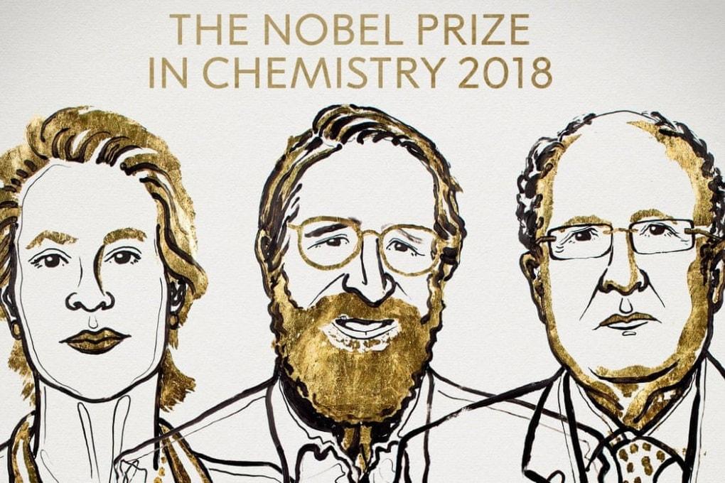 Il Nobel per la Chimica 2018 a Frances Arnold, George Smith e Gregory Winter