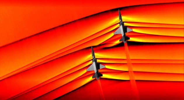 Le foto di onde d'urto supersoniche della Nasa: mai viste così