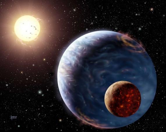 Kepler 1625b, esopianeti, luna, Hubble, Kepler, telescopi spaziali