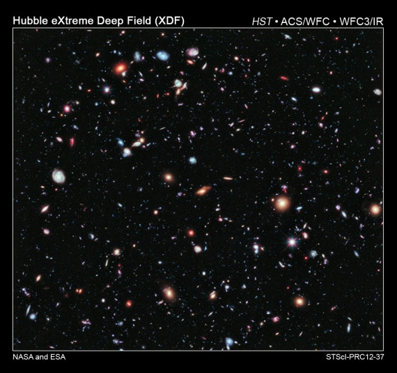 Telescopio spaziale Hubble: eXtreme Deep Field.