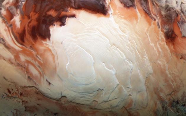 Che cosa può vivere nei laghi di Marte?