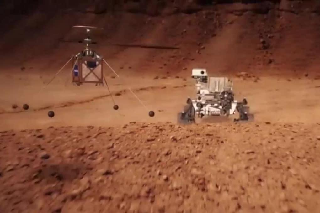 Completati i test per il drone di Mars 2020: prossima destinazione, Marte