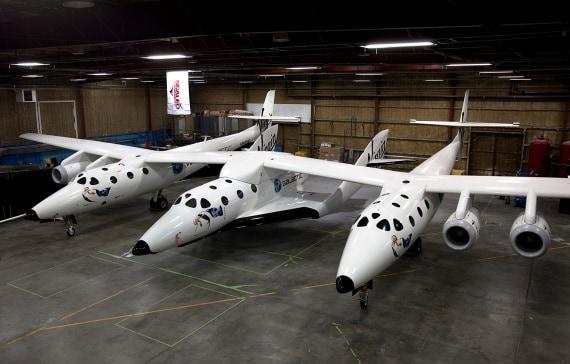 Virgin Galactic, SpaceShipTwo, WhiteKnighTwo