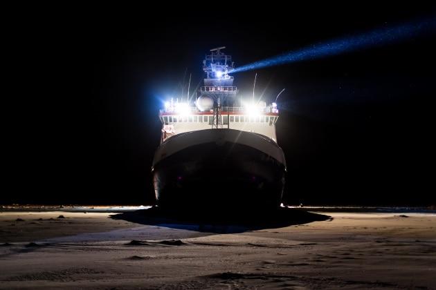 La nave Polarstern e la missione Mosaic
