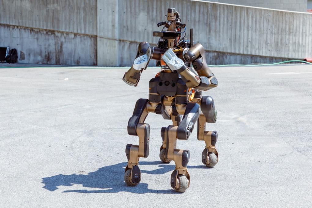 INSTALLAZIONI: Centauro, il robot delle emergenze