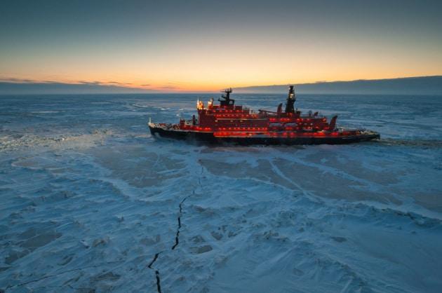 La mappa dei nuovi tesori dell'Artico