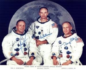 Neil Armstrong, NASA, Apollo 11, Equipaggio
