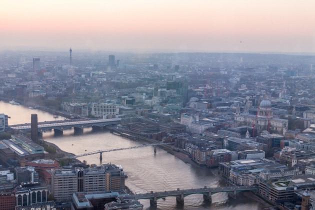 L'aria inquinata di Londra legata a una ridotta capacità polmonare