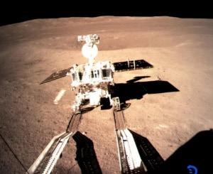 Sistema Solare, esplorazione della Luna, lato nascosto della Luna, Chang'E-4, Yutu-2