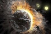 Quando due pianeti si scontrano