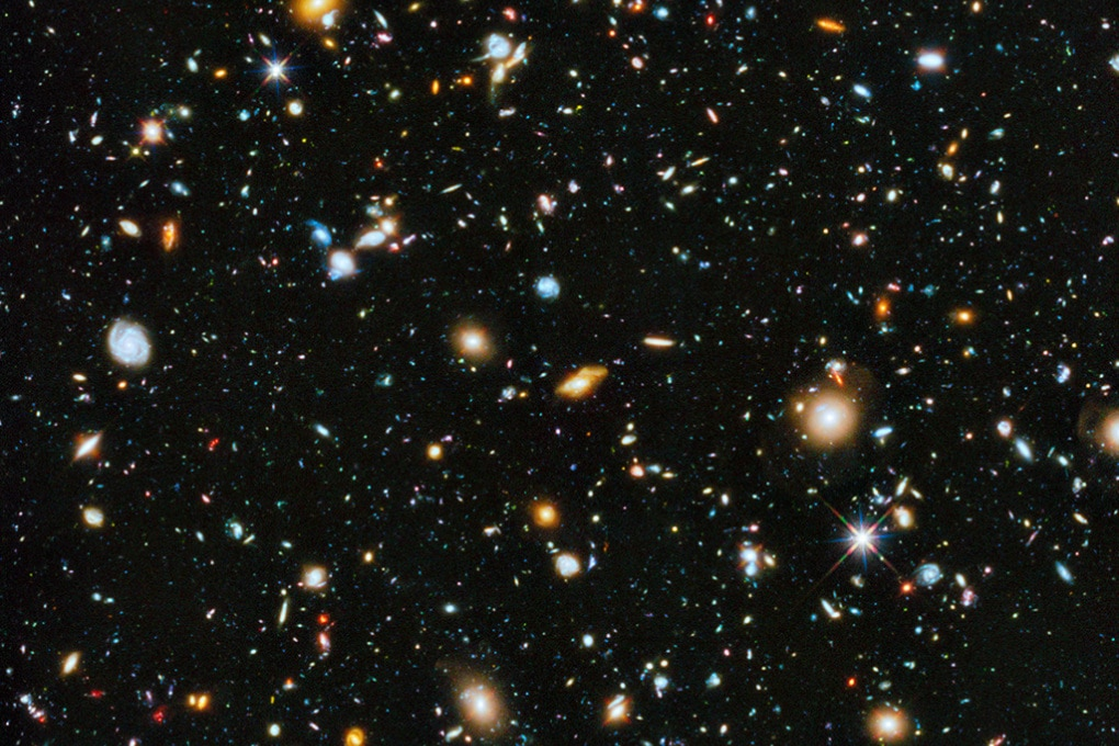 Hubble cattura l'immagine più bella e colorata dell'Universo