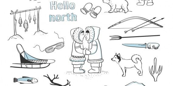 Il bacio degli inuit