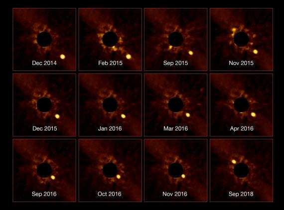 Beta Pictoris, pianeti extrasolari, esopianeti, polvere protoplanetaria