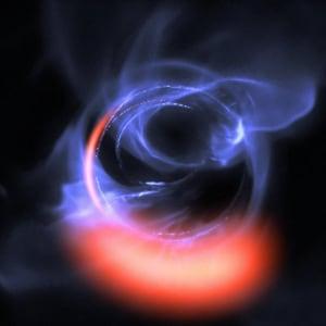 buchi neri, astrofisica, Sagittarius A*, orizzonte degli eventi, Via Lattea