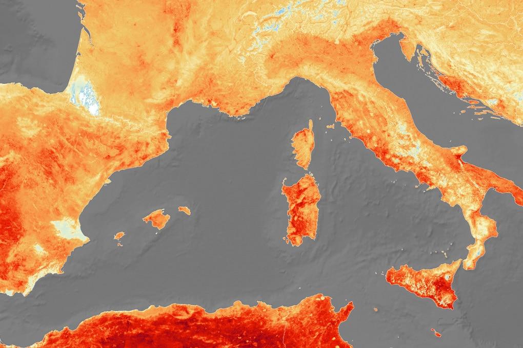 Estate 2019: la foto dell'ondata di caldo