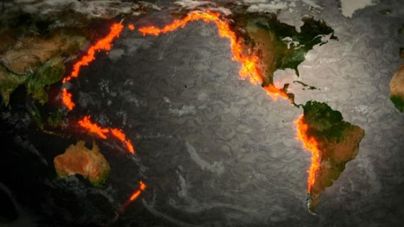 terremoti, sismi, vulcani, geologia, terremoti 2018, eruzioni esplosive, cintura di fuoco, magma