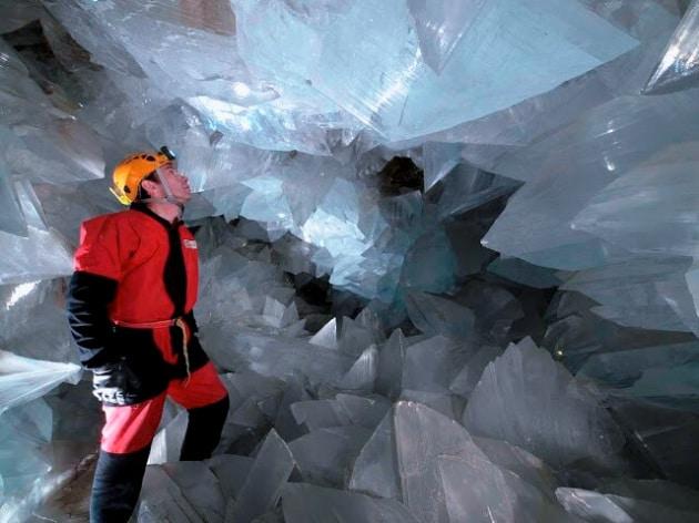 Come si è formata la più grande geode al mondo