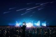 Il controverso spettacolo delle stelle cadenti artificiali
