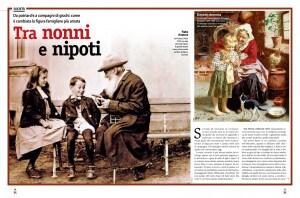 Focus Storia, Nonni, Italia, festa dei nonni, 2 ottobre, angeli custodi