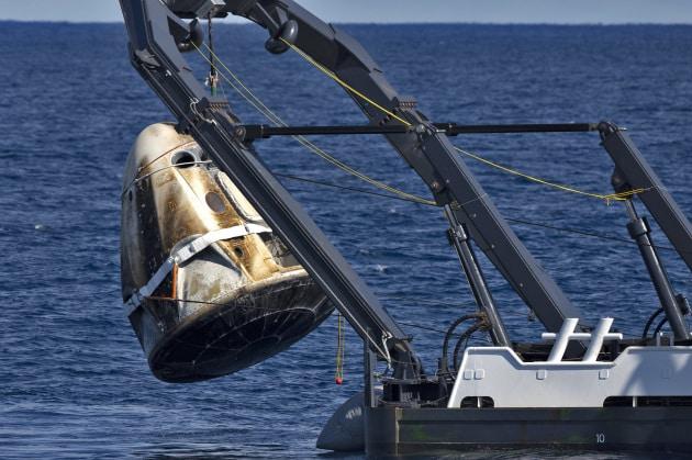 SpaceX, chiarite le cause dell'esplosione della Crew Dragon
