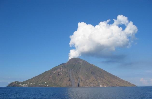 Le webcam del vulcano Stromboli