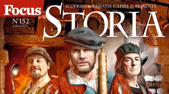 Focus Storia 152: cuochi, banchetti e libri di cucina del Rinascimento