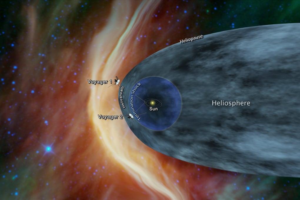 La Voyager 2 alle porte dello Spazio Interstellare
