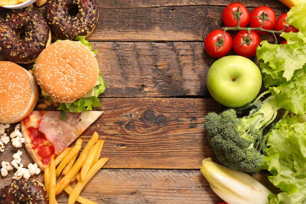 L'alimentazione scorretta favorisce l'insorgenza di molte patologie letali