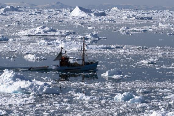 ambiente, Circolo Polare Artico, scioglimento dei ghiacci e del permafrost, opportunità e pericoli