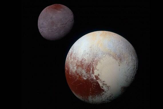 Plutone e Caronte, Plutone e le sue lune