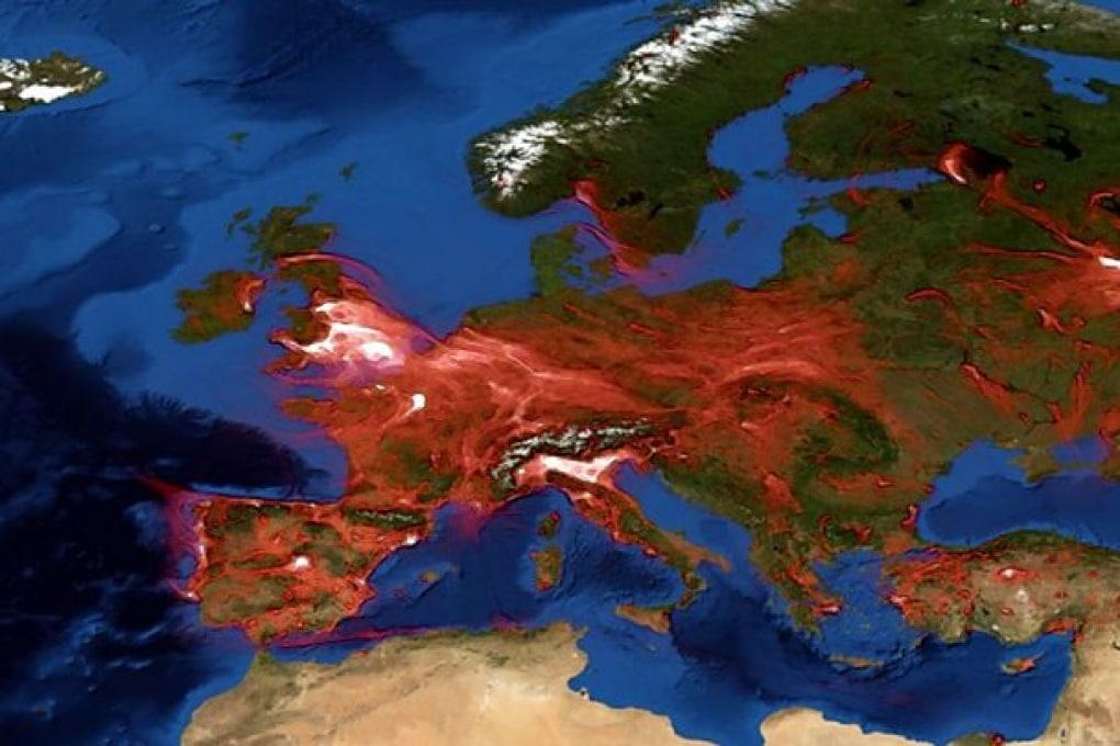L'inquinamento non ha confini: ecco come si sposta attraverso l'Europa