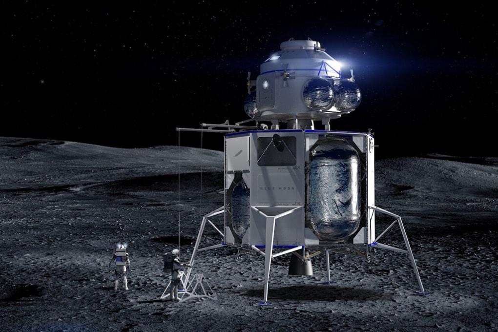 Blue Moon, il modulo lunare di Jeff Bezos