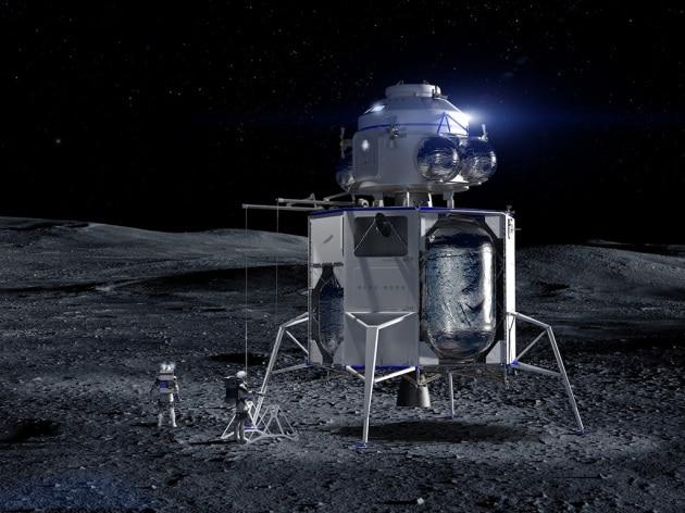 Ritorno alla Luna: Blue Origin e altre Space Company