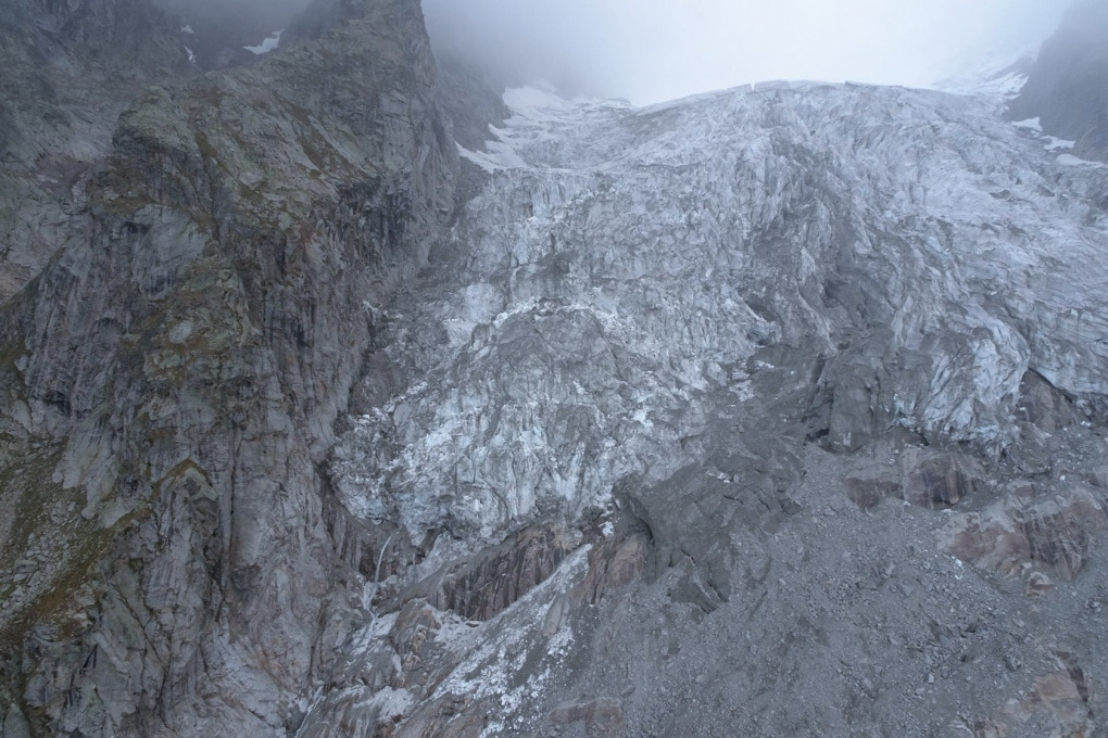 Il monitoraggio del ghiacciaio di Planpincieux