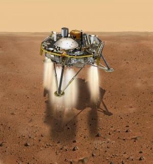 sonda InSight, lander, Marte, Nasa, Pianeta Rosso, Sistema Solare
