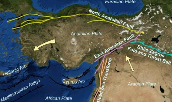 geofisica, terremoti, sismologia, faglie, piani di faglia, faglie tettoniche, scienze della Terra