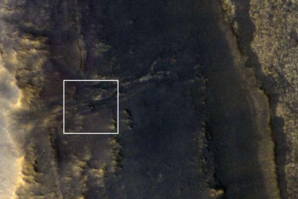 Ecco Opportunity: il rover silenzioso fotografato dall'orbita marziana