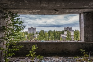 contaminazione radioattiva: la Zona di esclusione di Chernobyl e la vita vegetale