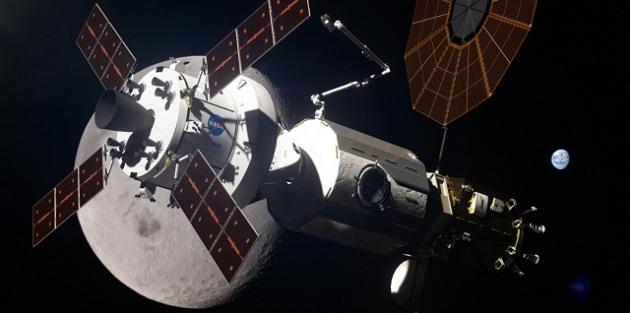 La posizione della stazione lunare, il Lunar Gateway