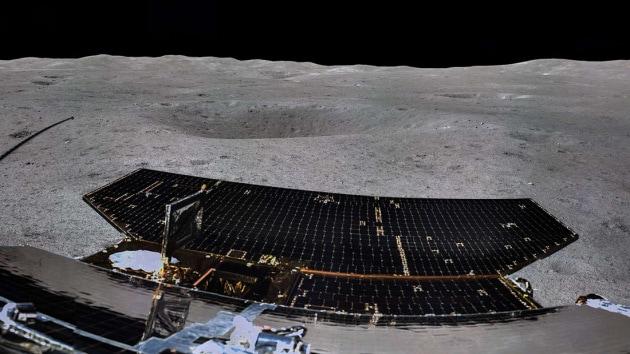 Chang'e-4: le sonde lunari cinesi si fotografano a vicenda