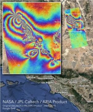 California, i terremoti di luglio 2019