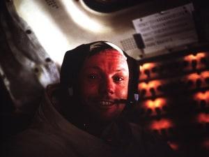 Neil Armstrong, NASA, Apollo 11, LEM, Luna