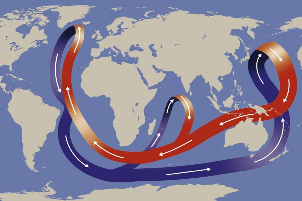 I cambiamenti nel Grande Nastro Trasportatore oceanico anticipano quelli climatici di quattro secoli