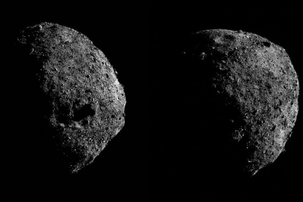 OSIRIS-REx: due foto ravvicinate dell'asteroide Bennu